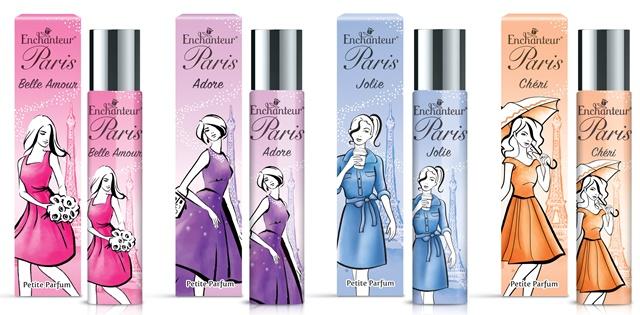 Wangian Terbaru Enchanteur Paris Petite Parfum Mesra Beg Tangan