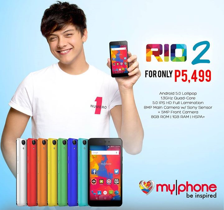 MyPhone RIO 2 Specs, Price and Availability