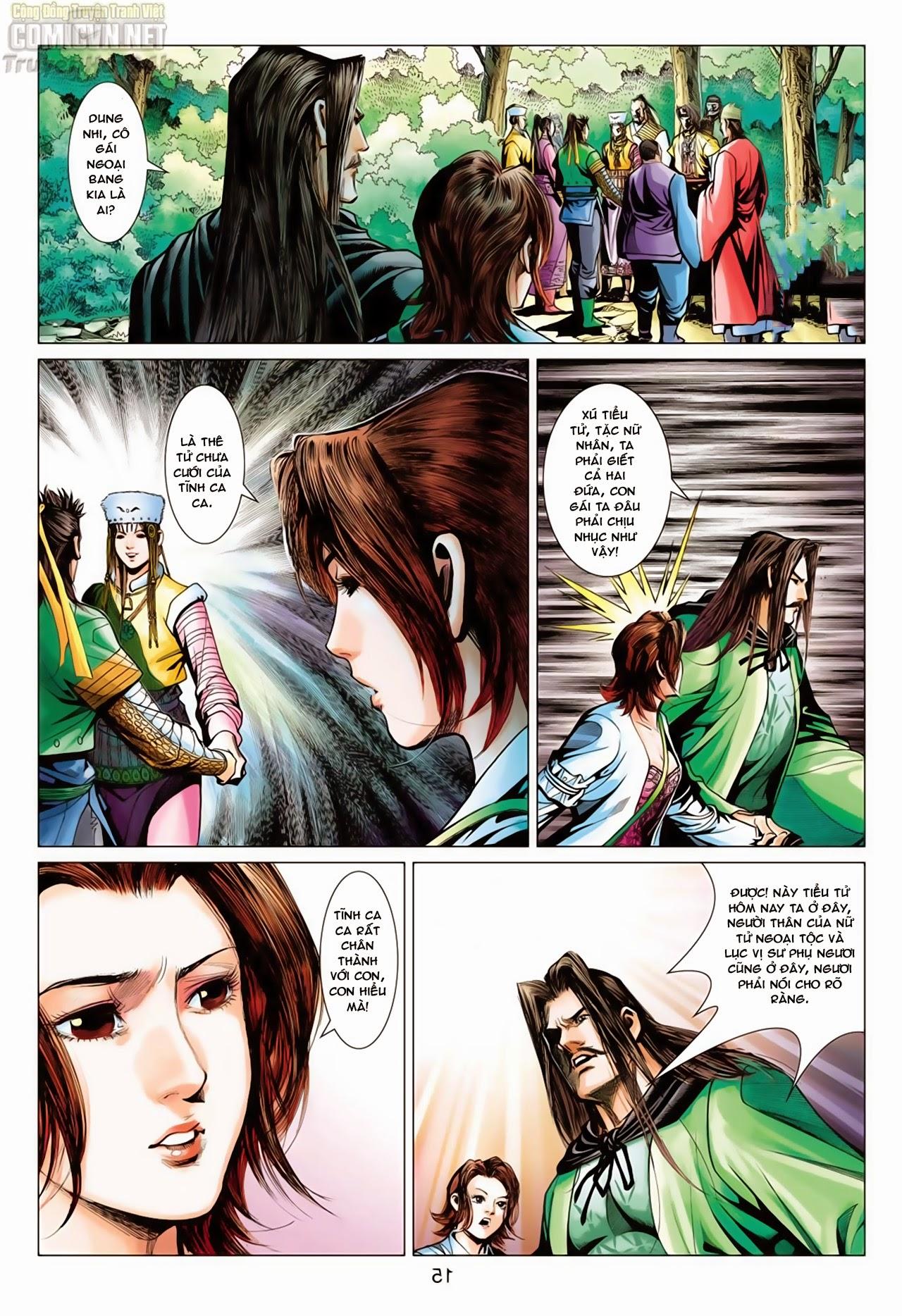 Anh Hùng Xạ Điêu anh hùng xạ đêu chap 65: cái bang tân chủ trang 15