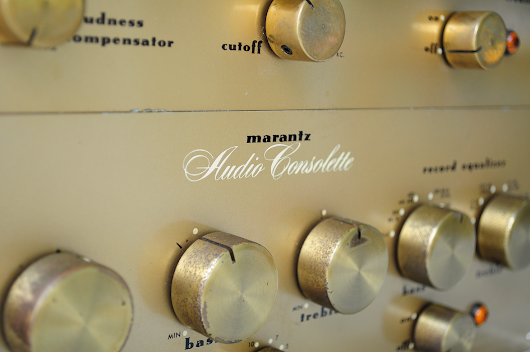 Marantz Model 1 Audio Consolette & Type 4 Modification
