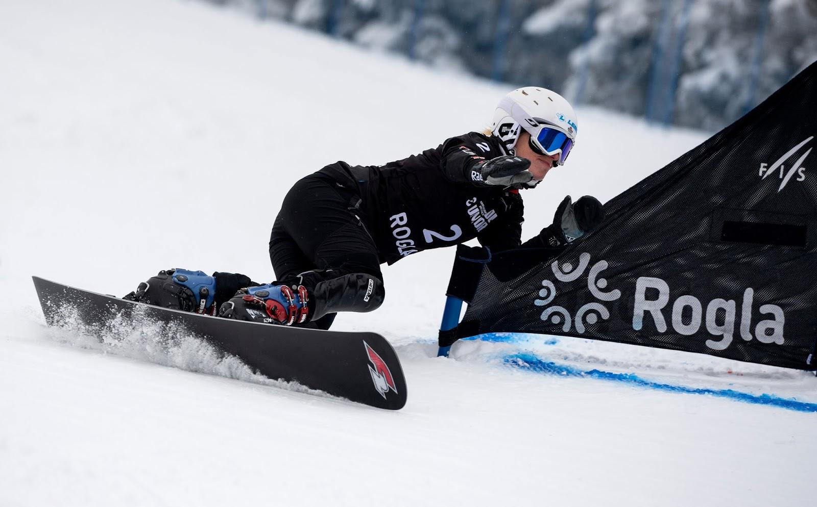 Selina Jörg e Edwin Coratti vencem etapa do Snowboard Paralelo
