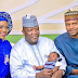 Photogist: Check Out Pictures Of The Newborn Baby Of Zamfara State Governor's Daughter