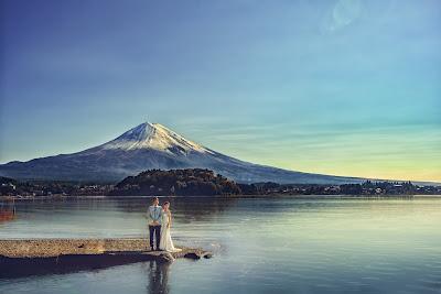 河口湖富士山婚紗