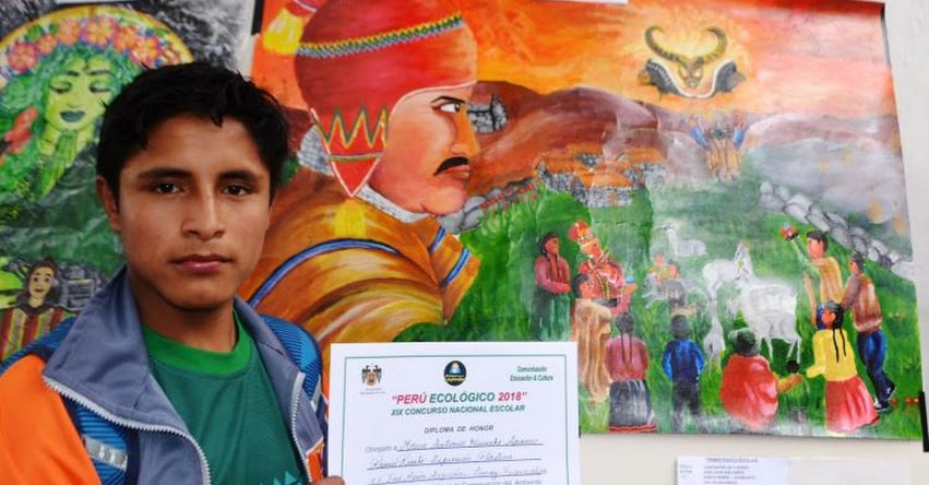 Premian a escolares del país por defender el medio ambiente en «XIX Concurso Nacional Perú Ecológico»
