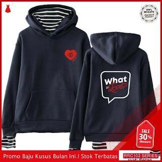 RRC102S31 Sweater Wanita Hodie Waht Is Love Wanita BMGShop