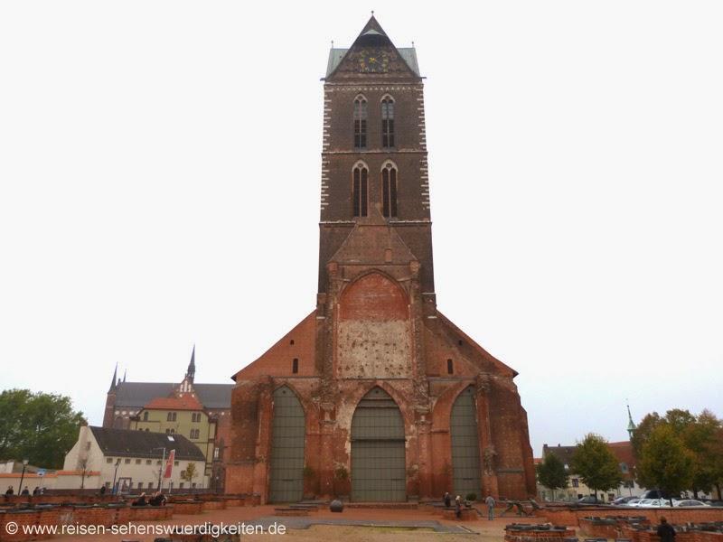 Sehenswürdigkeiten Wismar St. Marien Kirche Wismar