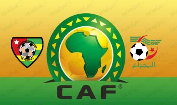 انتهت المباراة بفوز منتخب الجزائر على وتوجو بنتيجة 1 - 0 فى تصفيات أمم أفريقيا Algeria vs Togo