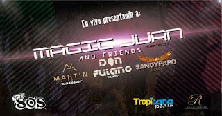 Concierto Magic Juan, Don Fulano, Sandypapo y más en Bogotá