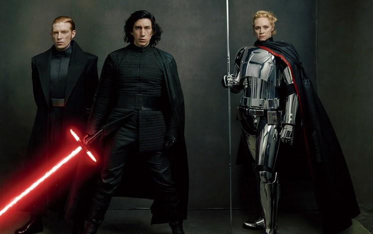 """Personagens de """"Star Wars: Os Últimos Jedi"""" estampam artes e imagens inéditas"""