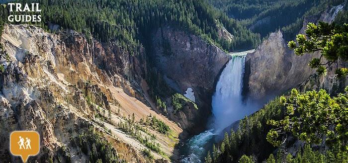 Amazingexplore  Stunning Waterfall Grand Canyon Yellow Stone