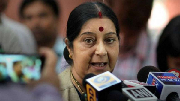 If Imran Khan is a generous statesman, he should give us Masood Azhar: Sushma Swaraj,New Delhi, News, Politics, Pakistan, Terrorists, Trending, National