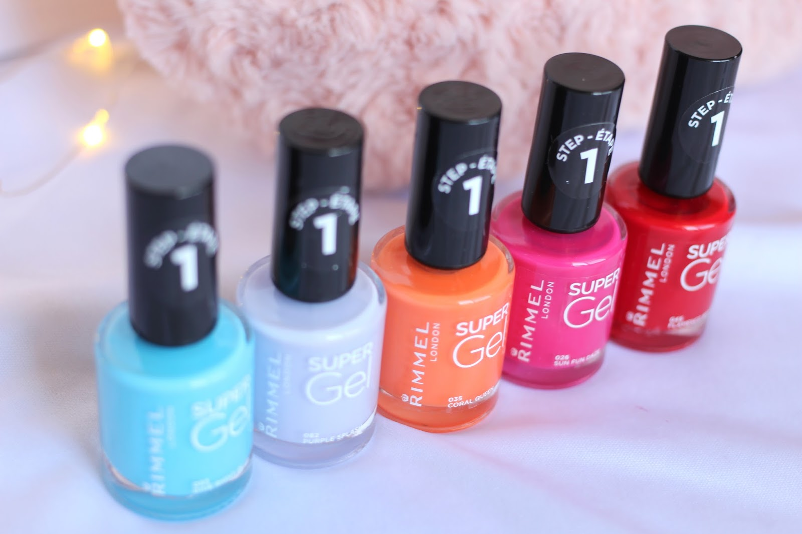 Rimmel Super Gel Collection