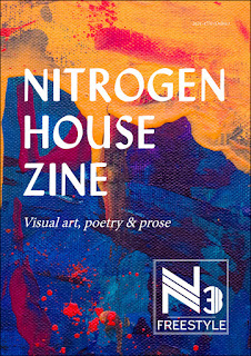 nitrogen house zine featuring poem by bridget eileen