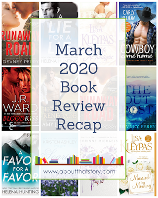 March 2020 Book Review Recap | About That Story