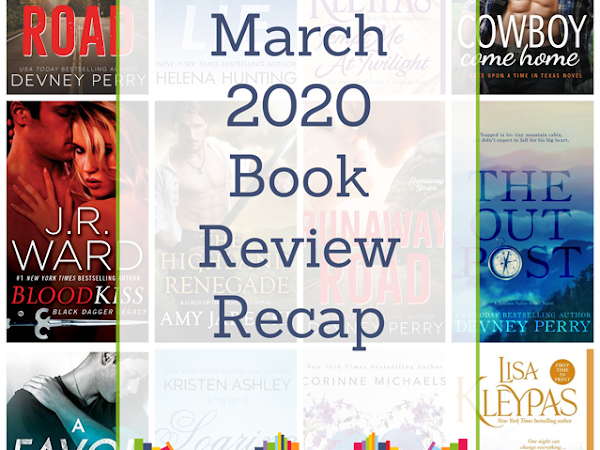 March 2020 Book Review Recap