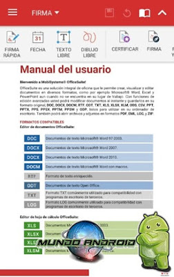 Visualización de OfficeSuite Pro + PDF