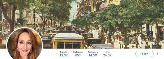J.K Rowling trocou a capa do seu twitter por uma foto histórica do Rio de Janeiro nos anos 30 (época que se passará Animais Fantásticos 3) e deixou os fãs loucos.