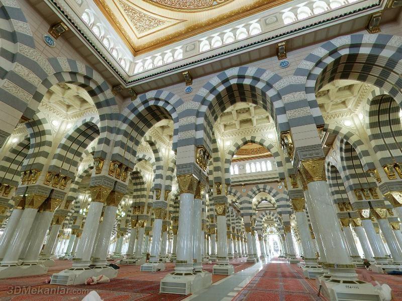 Masjid Nabawi dalam 3 Dimensi