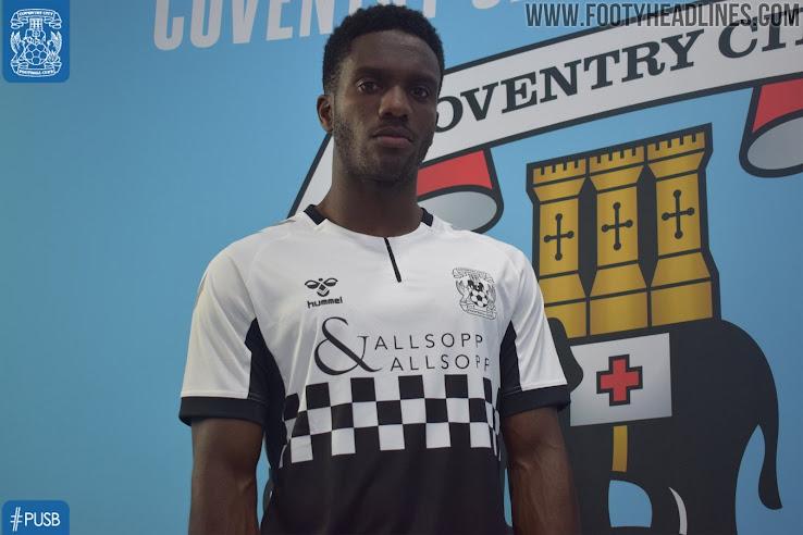 Hummel Coventry City FC Men/'s Third Shirt 2019-20 League One