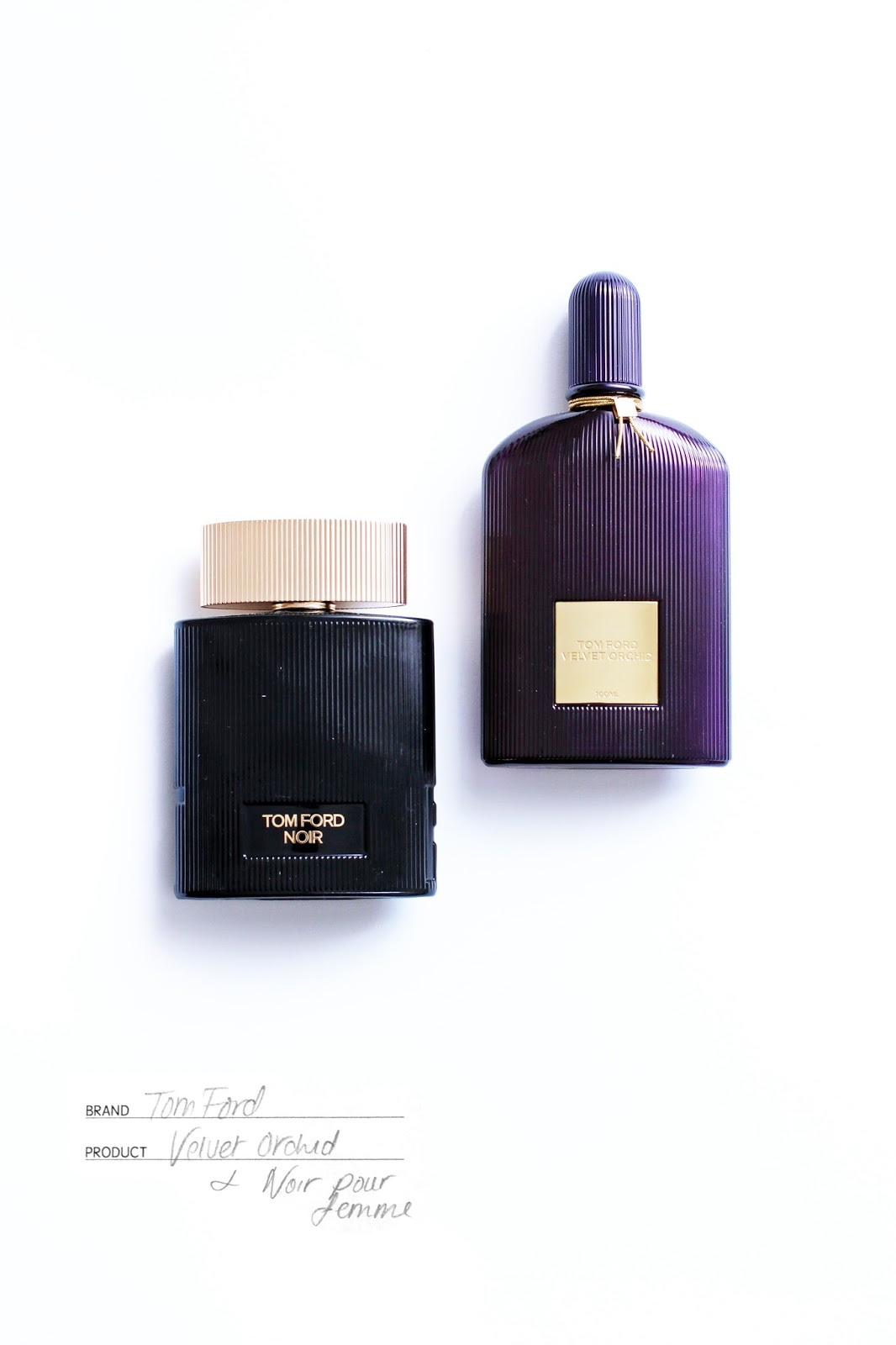 Tom Ford Velvet Orchid and Noir Pour Femme Fragrance Review
