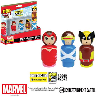 San Diego Comic-Con 2018 Exclusive Infinity Gauntlet and Marvel Mutants Pin Mate Box Sets by Entertainment Earth