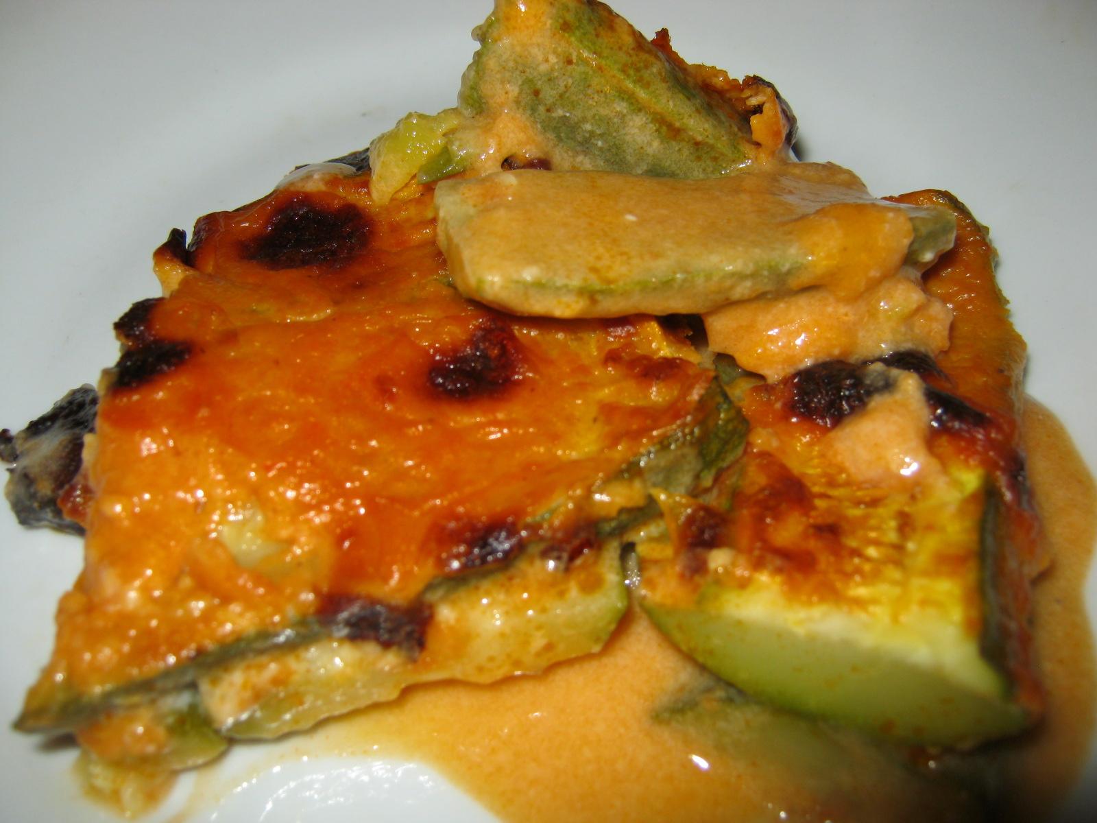 Ricetta Sformato Di Zucchine In Salsa Con Besciamella
