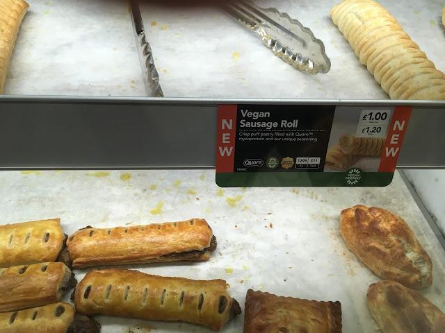 Greggs Vegan sausage rolls - Veganuary
