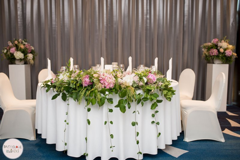 Pastelowe Kwiatki Pracownia Florystyczna Dekoracja Wesela W Yacht