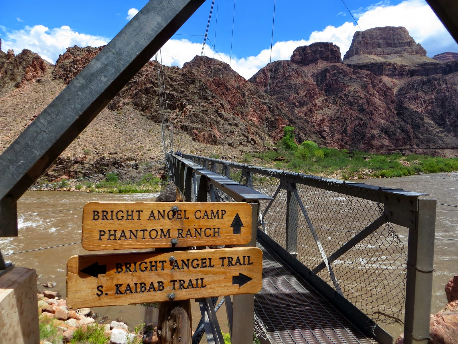 The Road Goes Ever On Grand Canyon The Bright Angel Trail