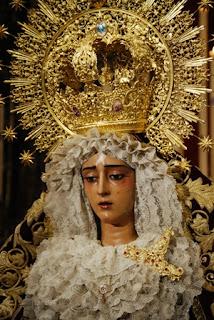 Traslado de la Virgen de la Caridad a la parroquia del Sagrario a su cede canónica en Sevilla