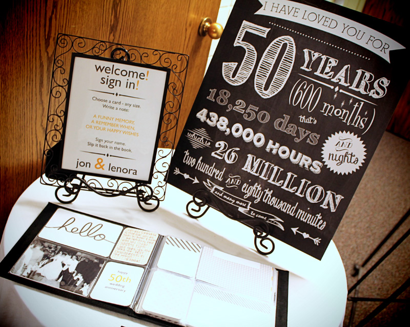 Gift Ideas For 50th Wedding Anniversary Party: Scraps Of Shirlee: Dad And Mom's 50th Anniversary