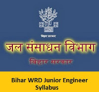 Bihar WRD Junior Engineer Syllabus