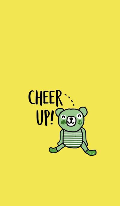 Happy Greeny Bear by Kukoy