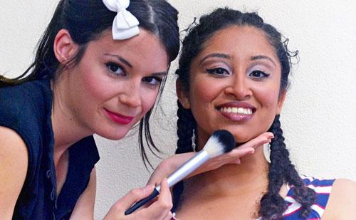 Maquillaje piel oscura monika sanchez maquilladora y erika martinez