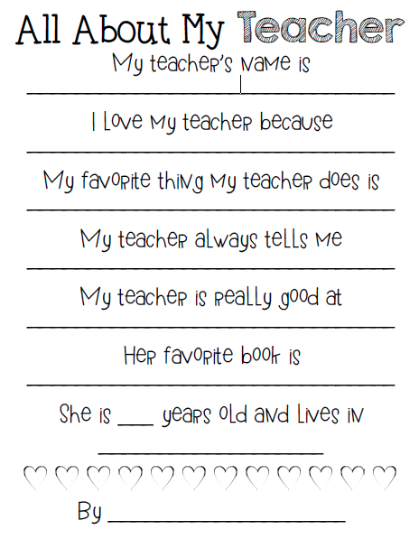 Kindergarten Smiles: Teacher Appreciation [Free Gift Tags and ...