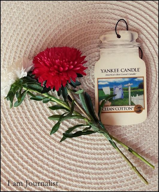 Yankee Candle Clean Cotton - zapach do samochodu