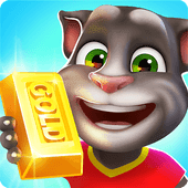 Talking Tom: Corrida do Ouro apk mod