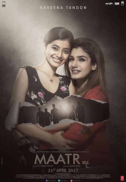 Poster of Maatr (2017) Full Movie Hindi 720p HDRip Free Download