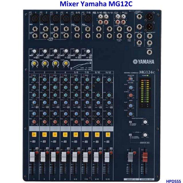 Harga Mixer Yamaha MG124C 6CH