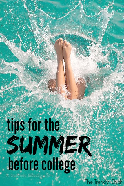 9 Tips For The Summer Before College