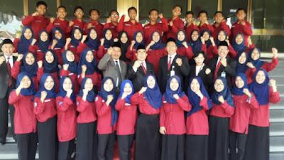 Dokumentasi Kegiatan Bank Indonesia Mengajar di BI Tegal