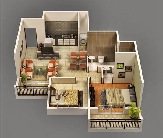12 Desain Interior Rumah Type 36 untuk Inspirasi Anda