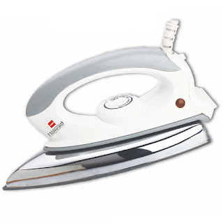 Amazon- Buy Cello Plug N Press 300 750-Watt Iron (WhiteGrey) at Rs 361