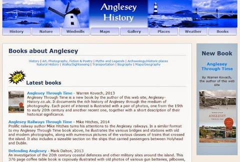 Anglesey book list