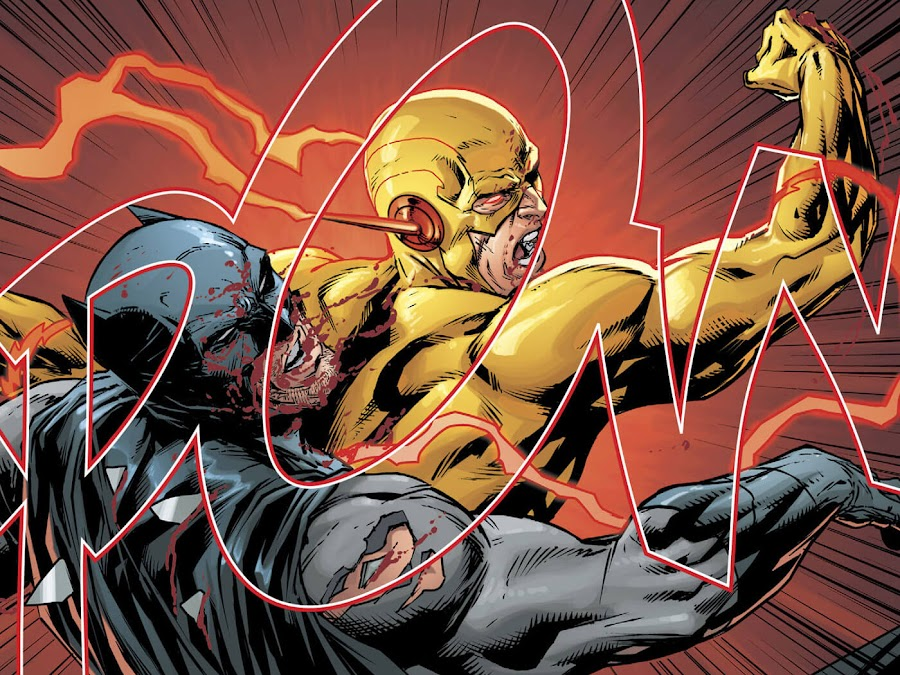 batman vs reverse flash