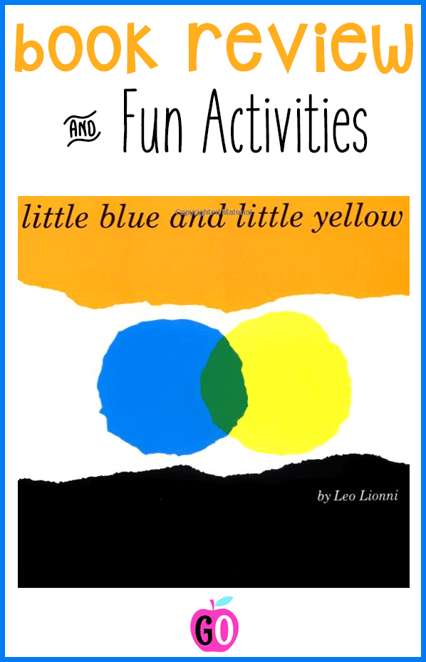 Little Blue and Little Yellow book review plus 2 fabulous and free activities. #littlebluelittleyellow #booksforkids #kidsbooks #gradeonederful #rainbowmilk