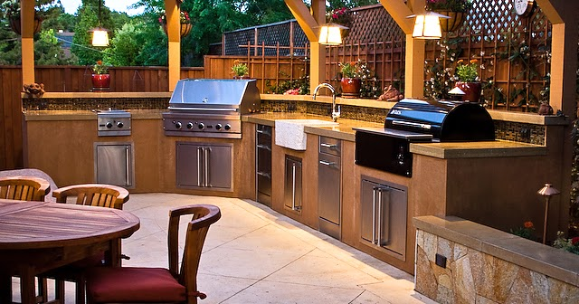Creating A Kitchen For Entertaining: Outdoor Kitchen Ideas To Make Entertaining Something To