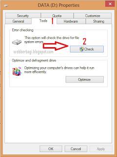 memory flashdisk yang mengalami kerusakan system