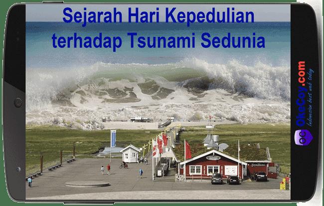 Pengertian dan Penyebab Tsunami Terdahsyat di Dunia
