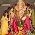 Gorgeous actress Urvashi Rautela  wearing RAR Studio by Ritesh Aniket Rishav for Ganeshutsav celebration